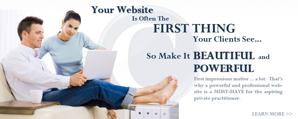 Your website is often the first thing your clients will see, so make it Beautiful and Powerful!